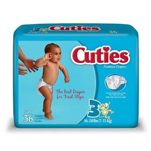 Picture of Cuties Premium Diapers