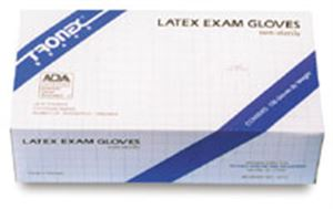 Picture of Tronex Latex Exam Gloves (non-sterile)