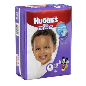 Picture of Huggies Little Movers Diapers