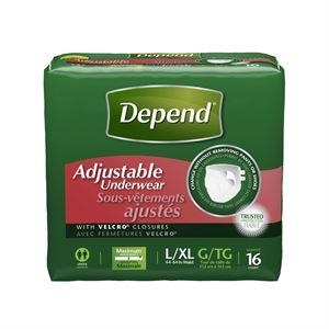 Picture of Depend  Adjustable Underwear
