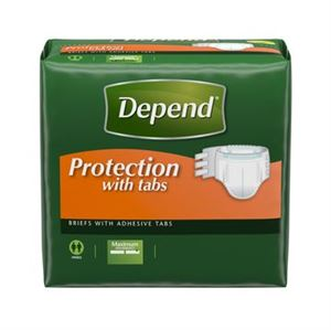 Picture of Depend Fitted Maximum Protection Briefs