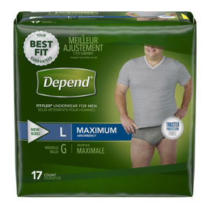 Picture of Depend Fit-Flex  ®Underwear for Men